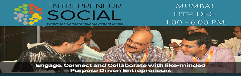 Book Online Tickets for Entrepreneur Social, Mumbai. \