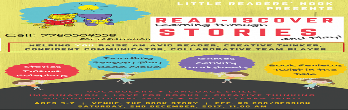 READ-ISCOVER learning through STORIES - a special activity based Story Telling Event