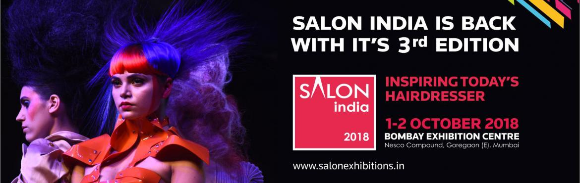 Book Online Tickets for Salon India Seminar 2018, Mumbai. Salon India draws together the hairdressing community in the industry\'s largest get together for all things hair. Experience world class education, the largest display of hair brands and products, get inspired by top stylists from across the world,
