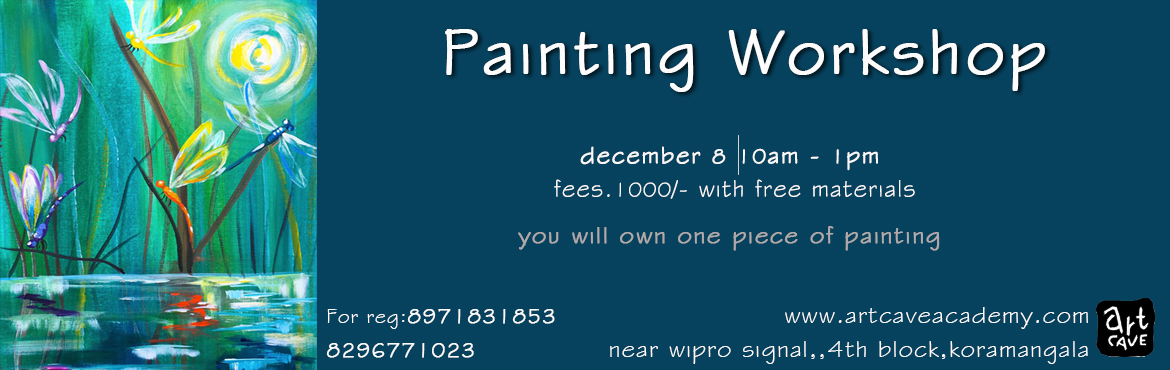 Book Online Tickets for Painting Workshop, Bengaluru. a hands-on painting workshop where participants can paint and create their own art.All the materials will be provided by us.
