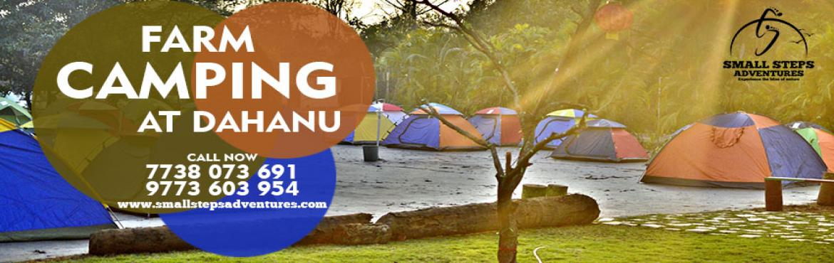 Book Online Tickets for Christmas Special Camping at Dahanu Chik, dahanu.   Small Steps Adventures: Christmas Special Camping at Dahanu Chiku farm.   Dear All Camping Lovers,   Come take camping experience with Mother Nature away from the city, experience Cold Air, Dark Night, Warm Fire, Bright Stars. Away f
