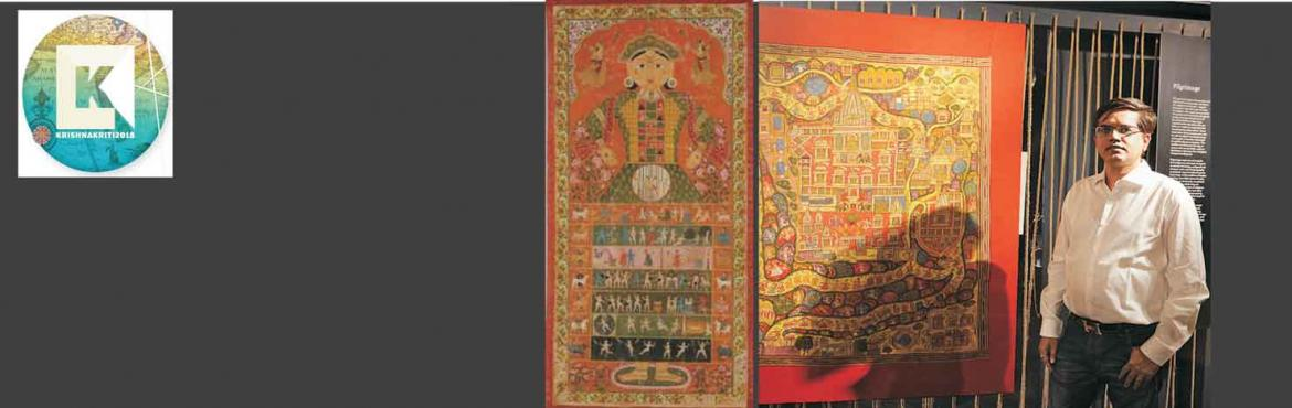 Guided tour of Exhibition, Space-Time, Place: The Culture of Indian Maps