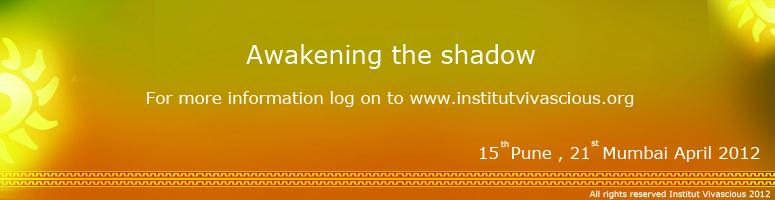 Book Online Tickets for Awakening the Shadow - Pune 15th April 2, Pune. What happens when you try holding a beachball under water? The moment you stop exerting pressure to keep it down it splashes up doesn\\\'t it? So are life\\\'s shadows. No matter how much one tries to ignore or keep them away one day they surface. T