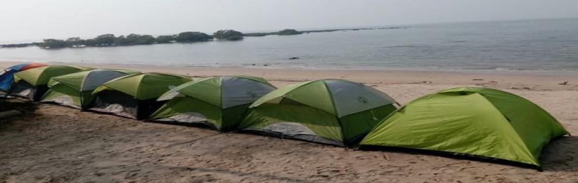 Kashid Beach Camping on 9th 10th December 2017
