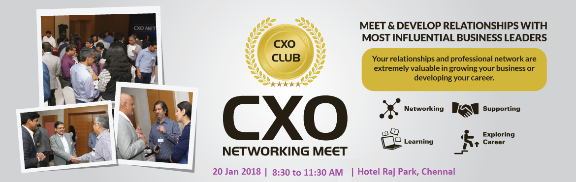 CxO Networking Meet, Chennai