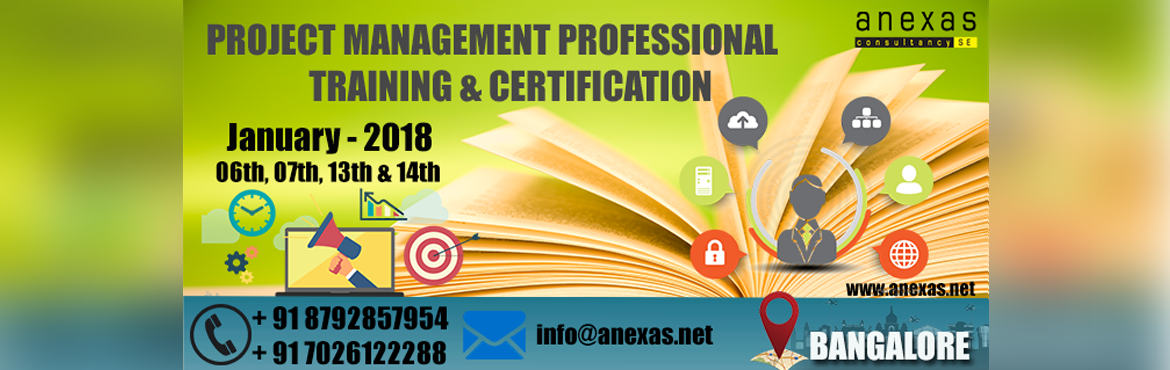 Book Online Tickets for Project Management Professional Training, Bangalore.   Project management is a rigorous and disciplined methodology that ensures execution of the projects in the organizations on time, within budget and with acceptable quality.Project Management Professional (PMP) certification is an industry