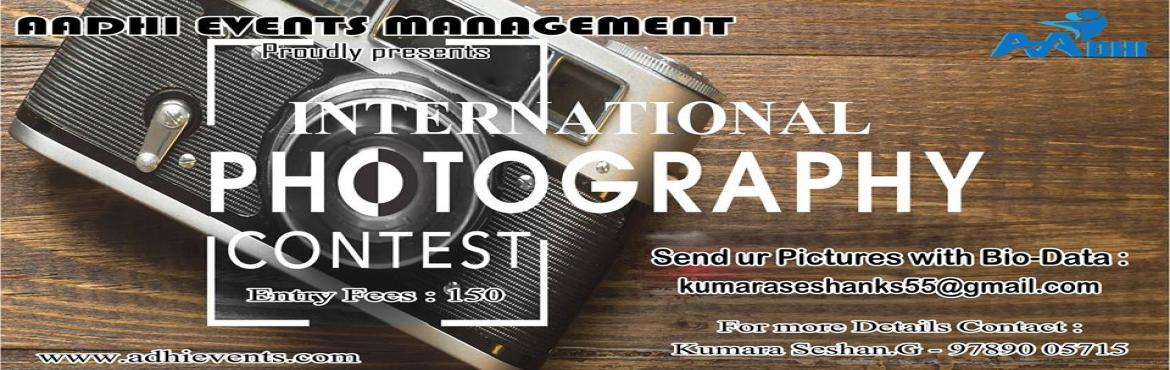 Book Online Tickets for AEM INTERNATIONAL PHOTOGRAPHER OF THE YE, Chennai. Event Date: 24th December 2017 Entry fee: Rs. 100/-  Aadhi Events Management creates new opportunities to showcase the best photographic work and introduce leading talents to the world of contemporary photography. We celebrate creativity an
