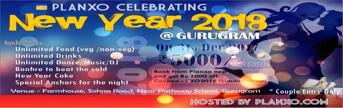 Book Online Tickets for New year party 2018, Gurugram. The salient champagne is chilling... we hope you are ready to be our guest at...    \