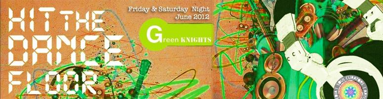 Green Knights Electronica | is a Sounds United Project - 30th June 2012