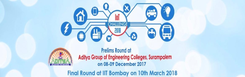 IOT CHALLENGE PRELIMS - ADITYA COLLEGE
