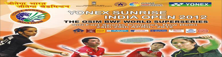 Book Online Tickets for Saina seeded third for Yonex Sunrise Ind, NewDelhi. * Guru Sai Dutt & Sourabh Verma to lead challenge in qualifying* World number one Lee Chong Wei tops billing in men's singlesNew Delhi: Swiss Open Grand Prix Gold champion Saina Nehwal has been seeded third in the second edition of the Yone