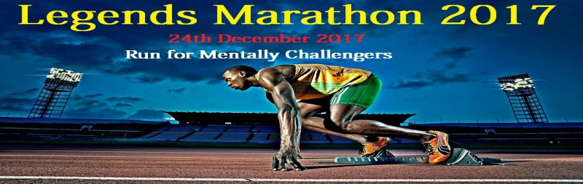 "Book Online Tickets for Legends Marathon - Run For A Cause 2017, Chennai. RUN FOR ""Mentally Challenged""  Date: Sunday, 24thDecember. 2017  Venue: Elliot's Beach, Besant Nagar.  Categories: 3Km, 5Km & 10Km   Registration Fee: Rs.600/- Let's Feed Chennai is planning to organize the"