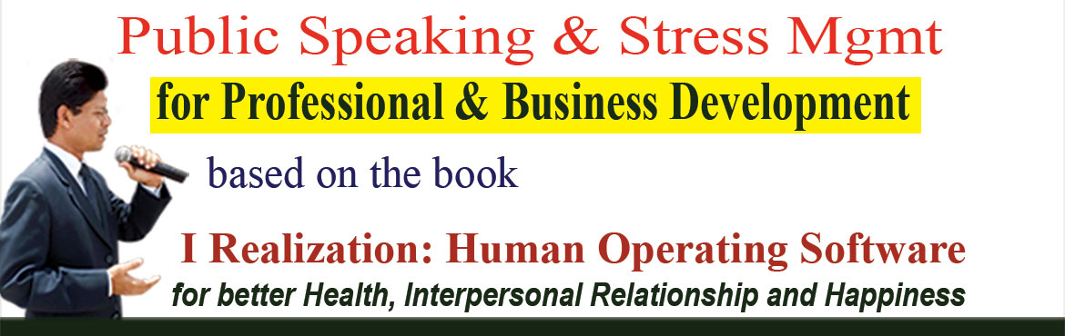 Book Online Tickets for Public Speaking and Stress Management pr, Hyderabad. Public Speaking and Stress Management program in the evening 7pm – 9pm,( Monday to Friday) for Professional & Business development.  Venue: Life Management Academy, Yousufguda Main Road, Near Sarathi Studio.  Please type 'Life Managem