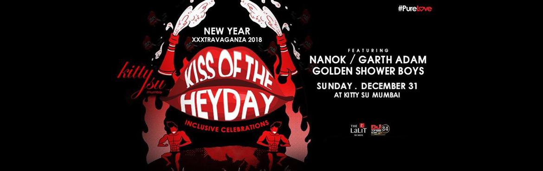 Kiss of the Heyday New Years Eve 2017 Mumbai