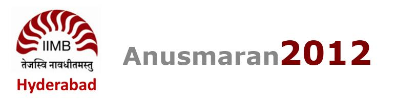 Book Online Tickets for Anusmaran 2012, Hyderabad.  Date: Saturday May 12th Hours: From 5:30 pm to 11 pm.. Venue: Boulder Hills Country Club Food & Fun:Plenty of it isall we can promise Who can come?: all alumni and their families: older (parents/g\\\'parents) and younger (