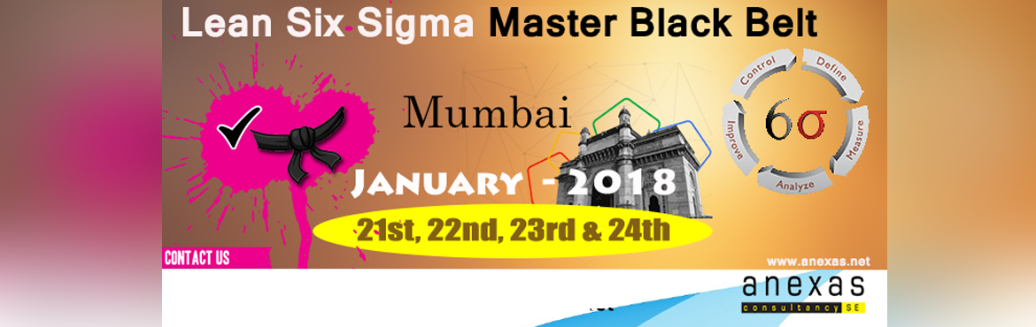 Book Online Tickets for Lean Six Sigma Master Black Belt Trainin, Mumbai.   Six Sigma is a process in which individuals are trained and certified in a methodology that will help companies Organize, Analyze and Improve their overall business operation. This will help to make them more efficient and more profitable. In