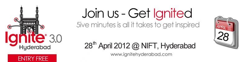 Ignite Hyderabad Vol. 03
