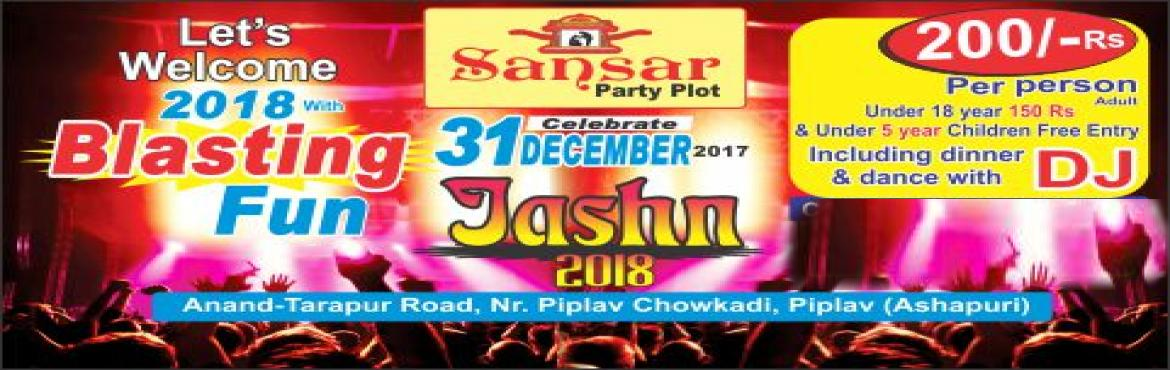 Book Online Tickets for 31 st December 2017 Dinner and DAnce, Anand.  Let welcome new year 2018  enjoy midnight 31st December 2017  DInner and DAnce with DJ
