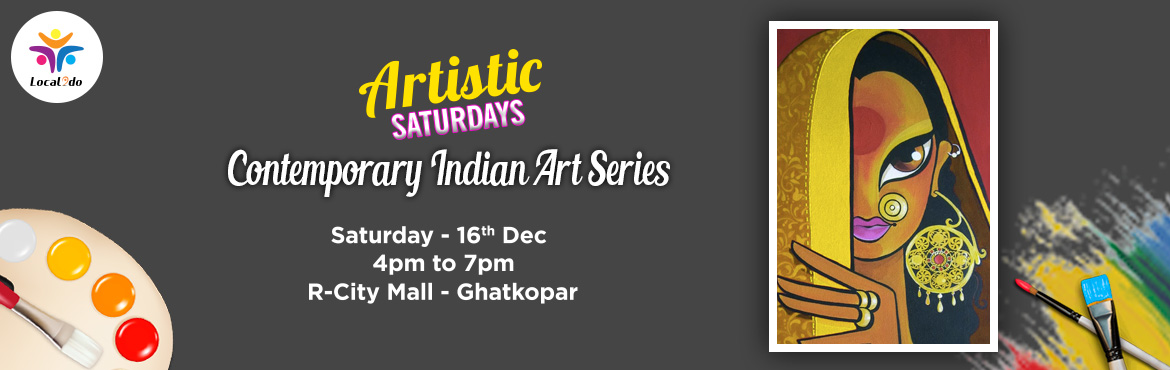 Book Online Tickets for Contemporary Indian Art Painting, Mumbai. In the Contemporary Indian Art Series, its the Indian Beauty. Capture the beauty on canvas with step by step instructions from an expert. All the materials are provided, you just walk in and walk out with your masterpiece at the end of the workshop!