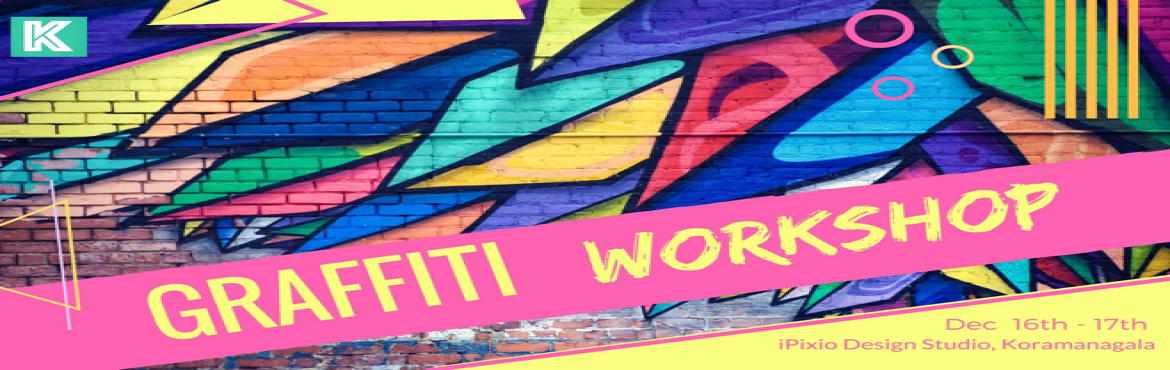 Book Online Tickets for Learn Graffiti Art, Bengaluru. Learn the art of scribbling from the experts in this two-day workshop.Introducing the first Graffiti workshop to get that madness out, splash those with catchy colours and express yourself in this street art workshop. Graffitis are just not som