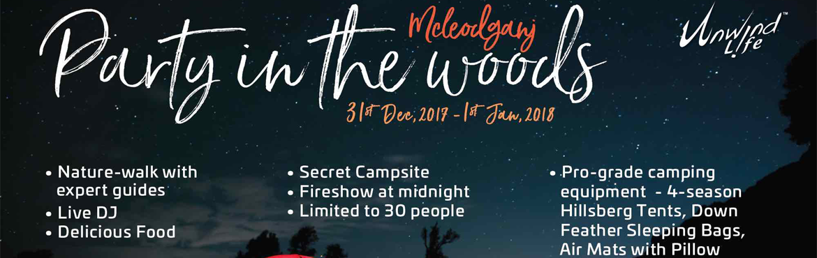 Book Online Tickets for Mcleodganj 2018, Party in the woods, Dharamshal. Mcleodganj also known as Little Lhasa is home to the Tibetan spiritual leader Dalai Lama in the upper Dharamshala. It has one of the most mesmerizing landscapes in Himachal Pradesh. Nestled amidst majestic hills & lush greenery is a campsite
