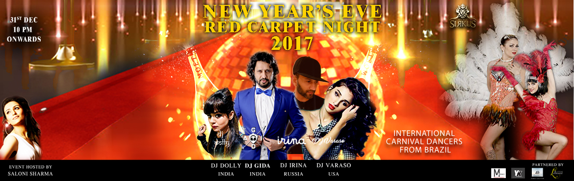 RED CARPET NYE 2017 at CLUB SIRKUS (SAHARA STAR)