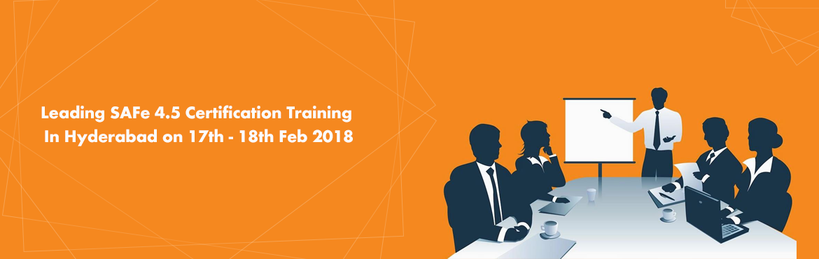 Book Online Tickets for Leading SAFe 4.5 Certification Training , Hyderabad.   Greetings from AllSys!   Are you ready to upgrade your skills and stay competitive on this leading-edge landscape? If so explore our upcoming SAFe 4.5 Agilist (SA) training and certification course.   Course Overview:  Scal