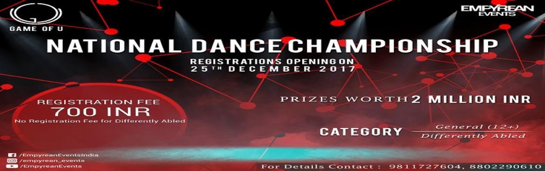 Game of U  National Dance Championship