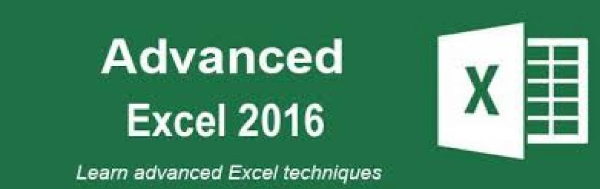 Advanced Level Microsoft Excel 2016 Course from Simpliv