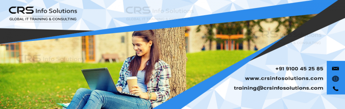 Book Online Tickets for Salesforce Onilne Training in by CRS Inf, Hyderabad.  I prefer to recommend CRS info solutions for the best salesforce coaching.  I would like to suggest CRS Info Solutions is one of the best institute to learn salesforce CRM online training with job placement assistance.  Enro