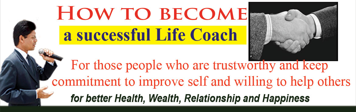 Book Online Tickets for How to become a Successful Life Coach?, Hyderabad. We will share the process to be a Successful Life Coach. Then every participants share their experiences at the stage to take out stage fear. Thoughts are powerful vibration. These vibrations become powerful and strong when you practice what you spea