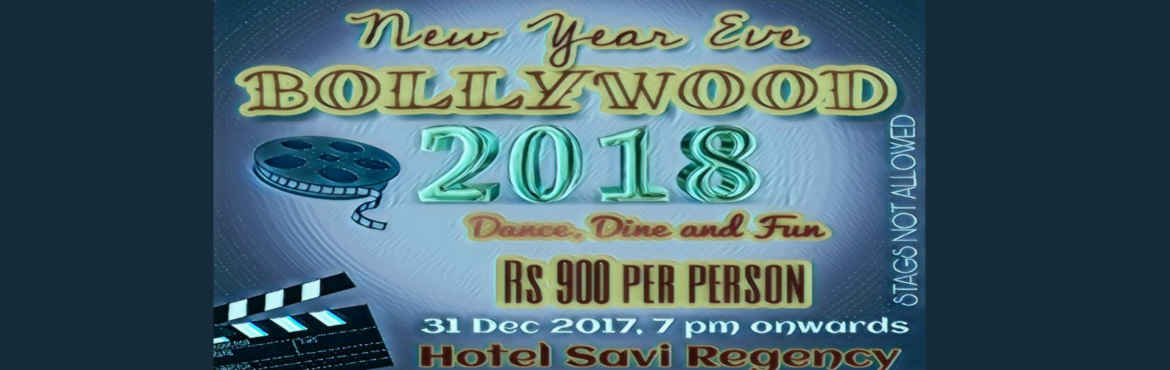Book Online Tickets for New Year Eve With Bollywood Theme @ Hote, Jaipur. New Year Eve 2018 Party based on Bollywood theme (31st December 2017), which includes: Our Menu Details: Items Included in Welcome Drinks Jal Jeera, Tomato Soup, Veg. Clear Soup Items Included in Starter: Hariyali Kabab, Spring Roll, Dal Pakoda, Coin