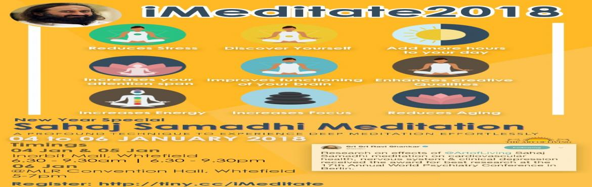 Happiness and iMeditate Program at Inorbit Mall