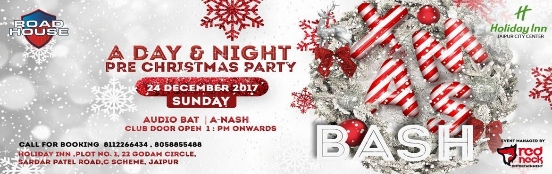 Xmas Bash: Club Road House 24th Dec 1pm Onwards