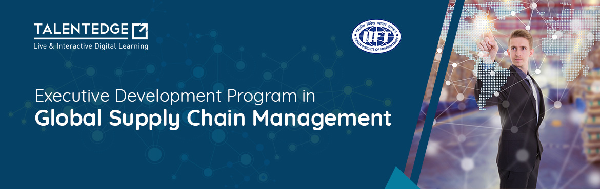 Book Online Tickets for Supply Chain Management Course - IIFT, Delhi. About the Course Globalization led growth across industry verticals, increase in world trade and influence of competitive market global drivers has nurtured the development of global supply chains. Across the industries, SC executives have been advan