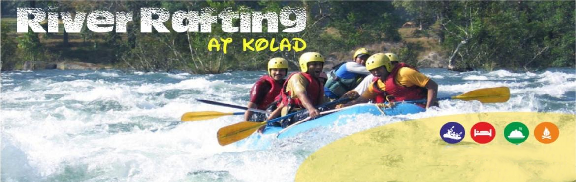 Book Online Tickets for River Rafting at Kolad Overnight, Kolad. Small Steps Adventures River Rafting at Kolad Overnight Package: Info: Kolad is approx 95 kms from Chandni Chowk, Pune and 130Km from Mumbai. It\'s a perfect destination for adventure and outdoor activities. Our campsite provides the accommodation,sp