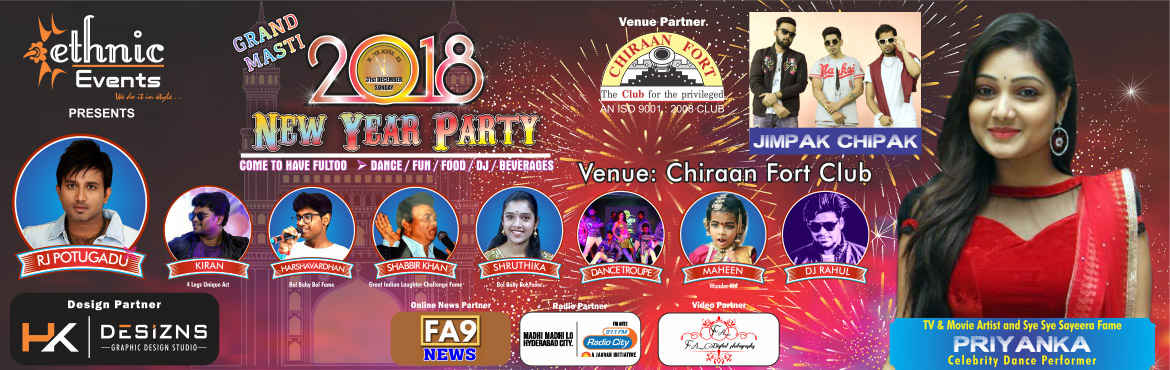 Come to have fultoo masti & maza with wonderful artists like Jimpak Chipak Fame Rappers, P TV & Movie Fame Artist Priyanka as celebrity dance performe