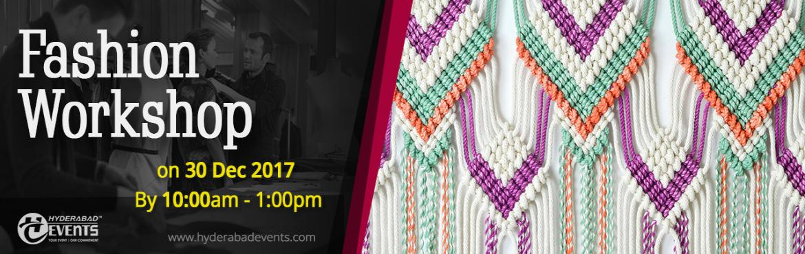WORKSHOP FOR MACRAME