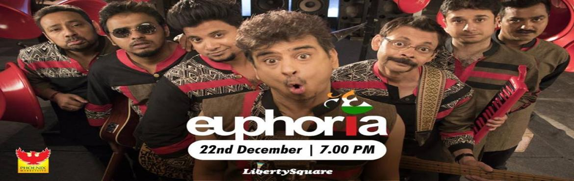 Book Online Tickets for Euphoria Live at Phoenix Marketcity  Pun, Pune. Euphoria Live at Phoenix Marketcity – Pune Get ready to DHOOM as Phoenix Marketcity - Pune presents live-in concert by Euphoria, the band that is the pioneer of Indie pop music in India. With popular tracks like Dhoom Pichak Dhoom, Maeri, Kabhi
