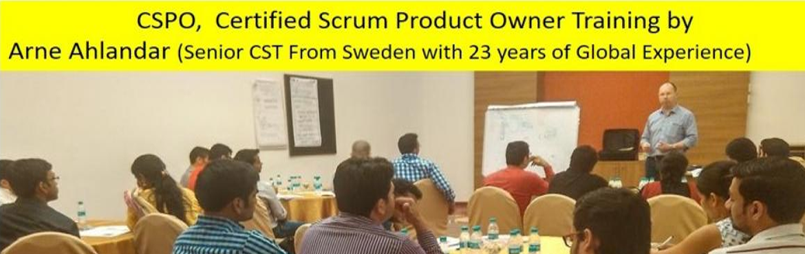 Book Online Tickets for Certified Scrum Product Owner (CSPO) Wor, Bengaluru. About CSPO Workshop by Arne Ahlandar (Senior CST with 23 years of Global Experience)  CSPO Workshop Highlights  This 2-day Product Owner Certification Training will prepare participants for mastering the most difficult role in