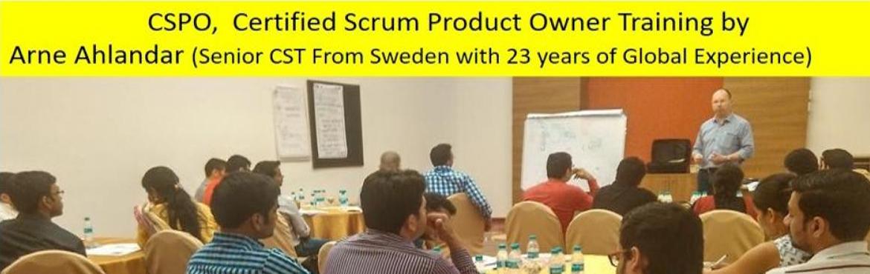 Certified Scrum Product Owner (CSPO) Workshop by Arne Ahlander | Bengaluru | 10-11 May