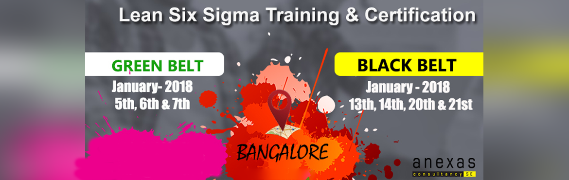 Lean Six Sigma Black belt Training and Certification at Bangalore (Weekend Batch)