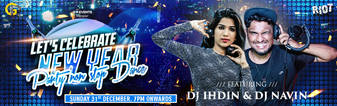 Book Online Tickets for Lets Celebrate New Year Party 2K18 at Ri, Hyderabad. Lets Celebrate New Year Party 2K18 at Riot Glitter yourself up and take out your dancing shoes for the biggest New Year party in Hyderabad.  Mexican, Chinese, and Akka Hyderabadi heart food: Biryanis (Veg & Non-veg) should not be missed. 99 Varie