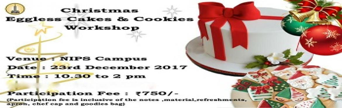 Book Online Tickets for Christmas Eggless Cakes and Cookies Work, Kolkata. THE BEST CHRISTMAS CAKE WORKSHOP EVER! Highlights:  Discover the secrets of making Rich Fruit & Christmas Plum Cake Learn how to make exciting flavour combinations for assorted Christmas Cookies Get creative and decorate your own frosted cookies.