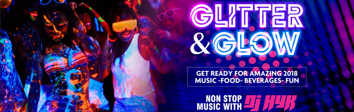 Book Online Tickets for Glitter and Glow - New Year 2018 at Ella, Hyderabad. Glitter and Glow - New Year 2018 at Ellaa Hotel  Event Highlights:  Free flow Beer & Unlimited premium Beverages at both venues Lavish Snacks & Gala Dinner buffet at both venues DJ at both areas Prizes & Surprises   Best dancing