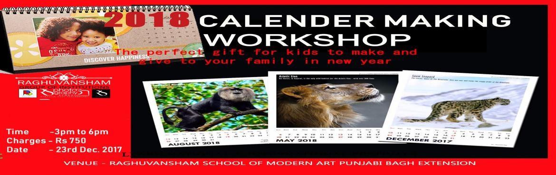 calender making workshop
