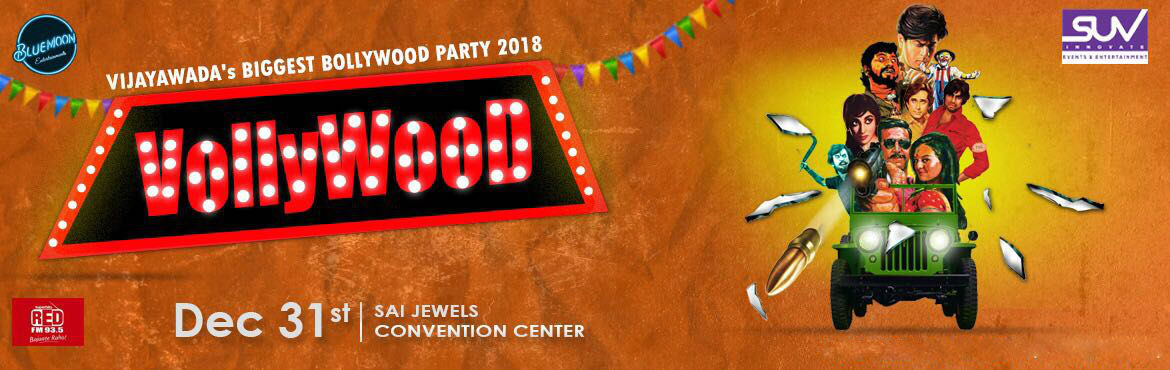 Book Online Tickets for VollyWood, Vijayawada. VollyWood, Vijayawada\'sBiggest Bollywood party!  Yay! Its that time of the year again where we can't keep calm but party crazy. Vollywood is all set to enter into Vijayawada with the most Energizing DJ Manee & DJ Rika who