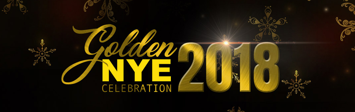 Book Online Tickets for Golden NYE Celebrations 2018, Secunderab. It's hard to believe another year is almost over. Whether you are planning to attend or host a great big holiday bash or a small family get-together, say goodbye to the old and welcome the New Year in style this year with a fabulous toast
