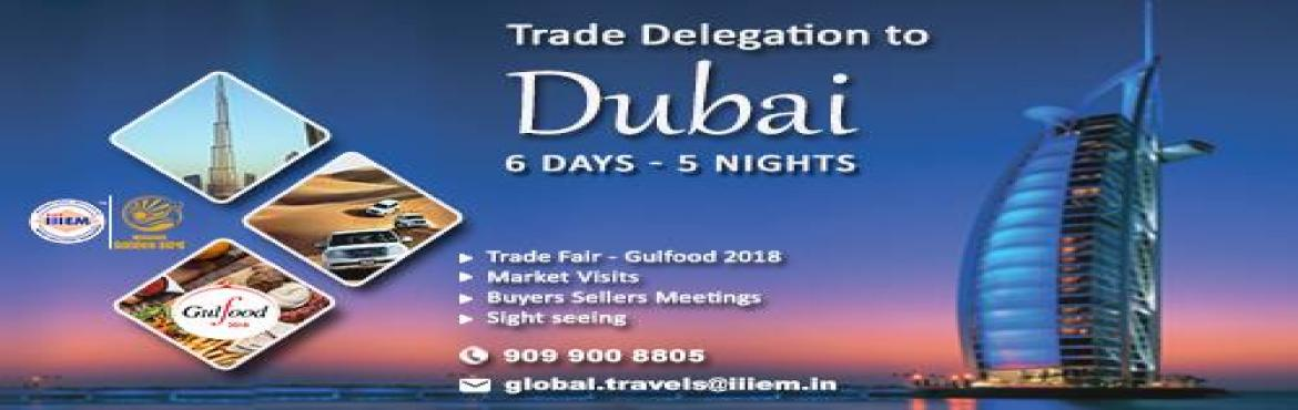 Book Online Tickets for Explore Dubai Gulfood For Business, Ahmedabad.  Inclusions:-- Ahmedabad to Ahmedabad Economy Class Return Ticket on Spice Jet or similar Airlines- 5 Night Hotel accommodation at Hotel Fortune Karama in Dubai05 Breakfast in the hotel ( Daily )- 04 Dinners at Indian Restaurants. + 01 Special I