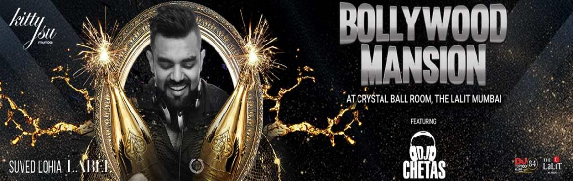 Book Online Tickets for BOLLYWOOD MANSION, Mumbai.          Event Name:   BOLLYWOOD MANSION      Event Time:   10 PM ONWARDS      Duration of the event:   10 TO 3 AM      Event Date:   24TH DECEMBER,2017      Venue:   MAJESTIC BALLROOM      Venue Address:   The